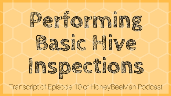 performing a basic hive inspection HBM podcast transcript episode 10