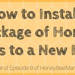 9: How to Install a Package of Honey Bees to a New Hive